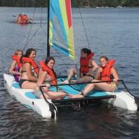 Marimeta Activities Down beside Lake Meta - Hobicat
