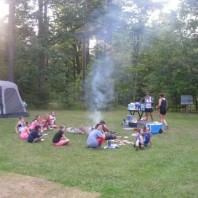 Marimeta Activities and Special Events - Camping Cookout