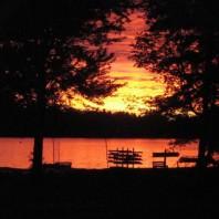 Marimeta Sunset on Lake Meta