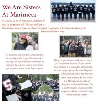 """We are Sisters of Marimeta"""