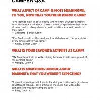 Marimeta Camper Q&A